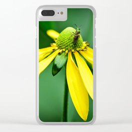 Voyage Across the Flower Clear iPhone Case