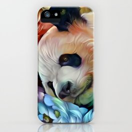 Sweet Panda iPhone Case