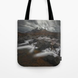 The Hills Of Cuillin Tote Bag