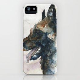 DOG #3 iPhone Case