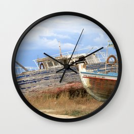 Zakynthos IV Wall Clock
