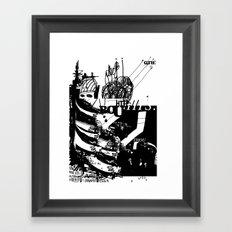 Thou Framed Art Print