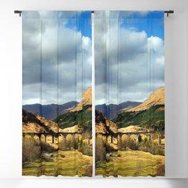 Glenfinnan Viaduct Blackout Curtain