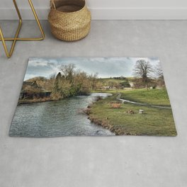 River Wye at Bakewell Rug