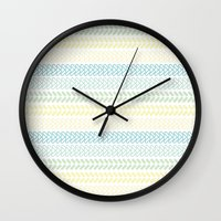 knit Wall Clocks featuring Knit 2 by K&C Design