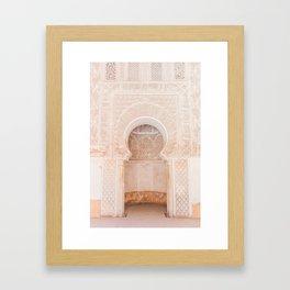 Marrakech Ben Youssef Madrasa Gerahmter Kunstdruck