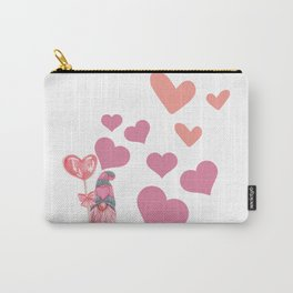Valentines Sweet Hearts Carry-All Pouch