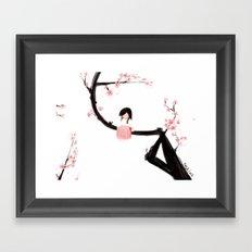 Gentle Blossom Framed Art Print