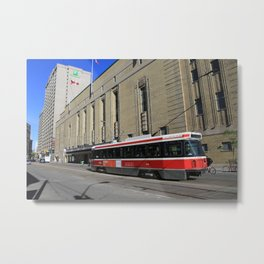 Red Rocket 23 Metal Print