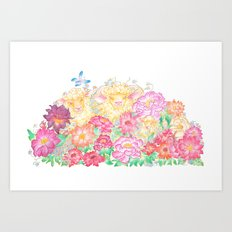 Happy New Year of the Sheep! Art Print