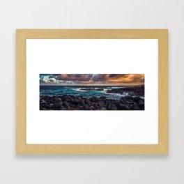 Kipahulu coastline Framed Art Print
