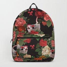 Opossum pattern Backpack