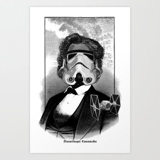 Stormtroopers Commander Art Print
