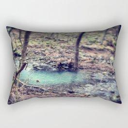 Forest Pond Rectangular Pillow