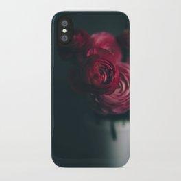 Red Ranunculus iPhone Case