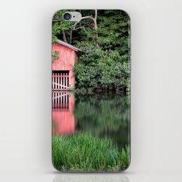 Mirror Lake House iPhone Skin