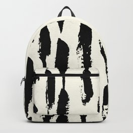 Tribal Paint Stripes Backpack