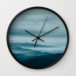 Sunrise without the Sun Wall Clock