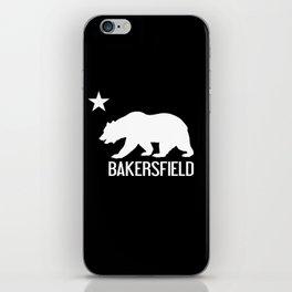 Bakersfield and California Bear iPhone Skin