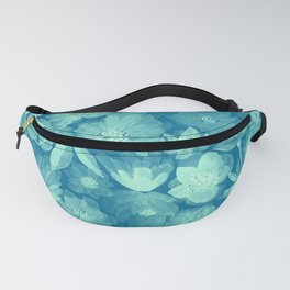 Around the World Flowers - Xray G Fanny Pack