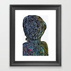 Windower White Framed Art Print