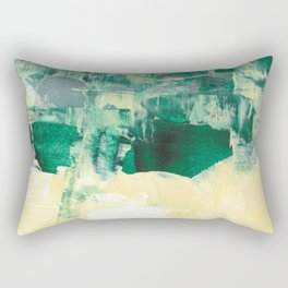 that view Landscape Forest Abstract Painting Rectangular Pillow