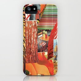 "Collage - ""Orange You Glad'"" iPhone Case"