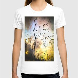 When The Crows Fly T-shirt