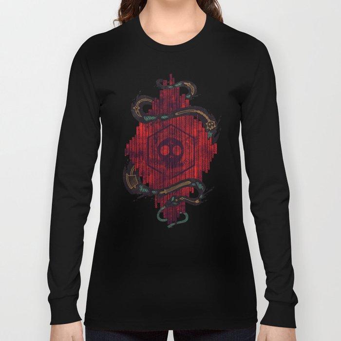Death Crystal Long Sleeve T-shirt