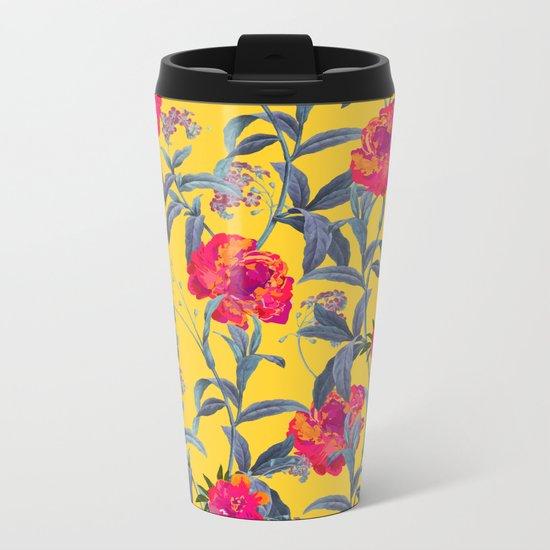 Come Into Blossom #society6 #decor #buyart Metal Travel Mug