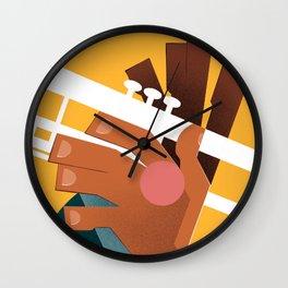 Louis Armstrong Wall Clock