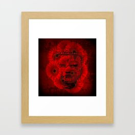 Mind Framed Art Print