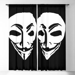 Anonymous Aliens Blackout Curtain