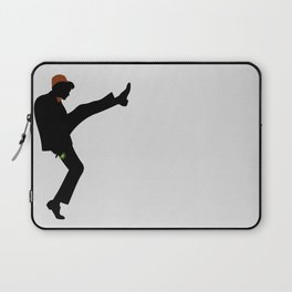 The 11th Doctor of Silly Walks Laptop Sleeve