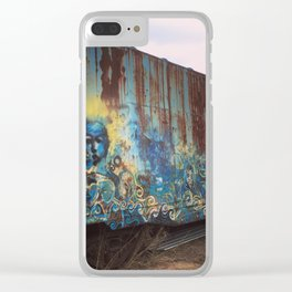 Train Art Clear iPhone Case