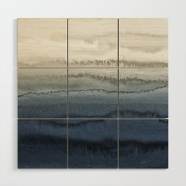 WITHIN THE TIDES - CRUSHING WAVES BLUE Wood Wall Art
