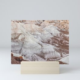 Panoramic landscape of Petrified Forest National Park Mini Art Print