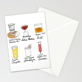 London in Cocktails Stationery Cards