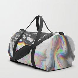 BLUE VELVET Duffle Bag