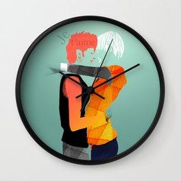 Both of us Wall Clock