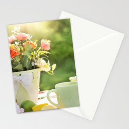 cake color cup Stationery Cards