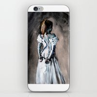bride iPhone & iPod Skins featuring BRIDE by Emanuele Califano Lidak