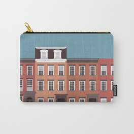 West Village, New York, NYC Travel Poster Carry-All Pouch