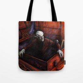 Dracula Nosferatu Vampire King Tote Bag