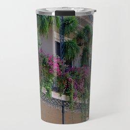 New Orleans Florals Travel Mug