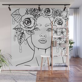 Rose to the Occasion Wall Mural