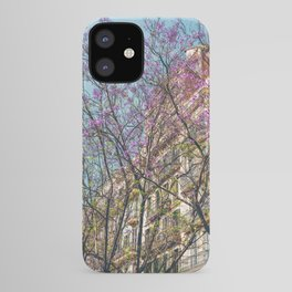 Purple Flower Trees, Tree Blossom, Barcelona City, Pink Flowers, Spring Blossom, Spring In Barcelona, Nature Back To Life iPhone Case