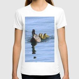 Mallard Duck Family T-shirt