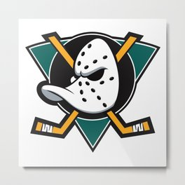 Anaheim Mighty Ducks Metal Print