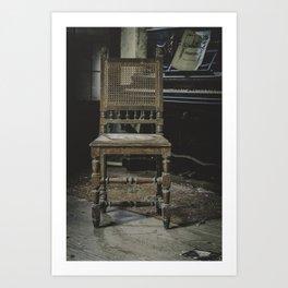 Muse and Elegance Art Print